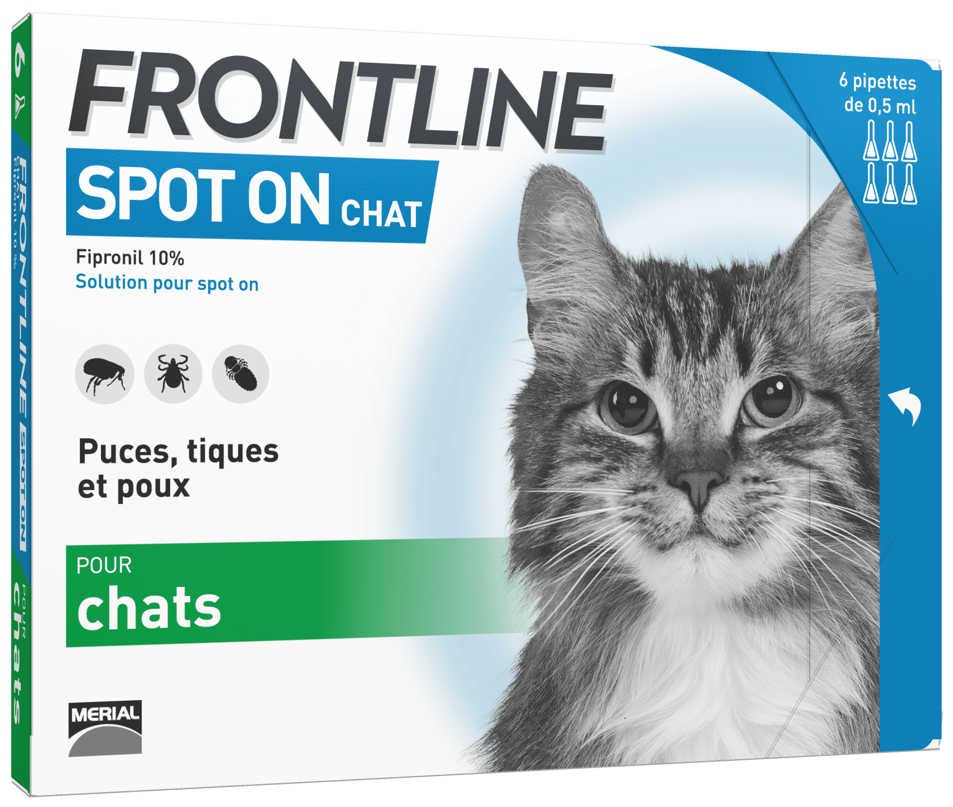 frontline pipettes chat spot-on