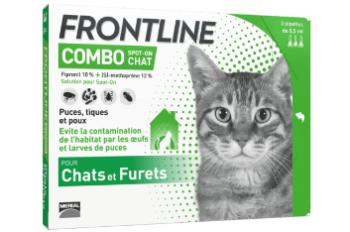 frontline combo anti-puces chat
