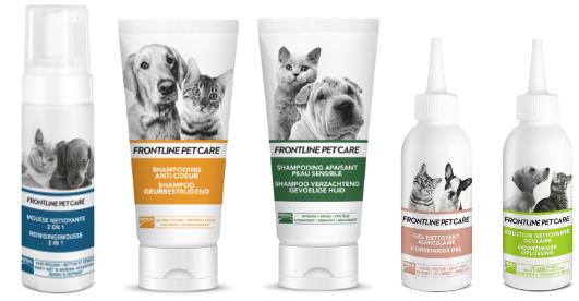 frontline pet care chien chat