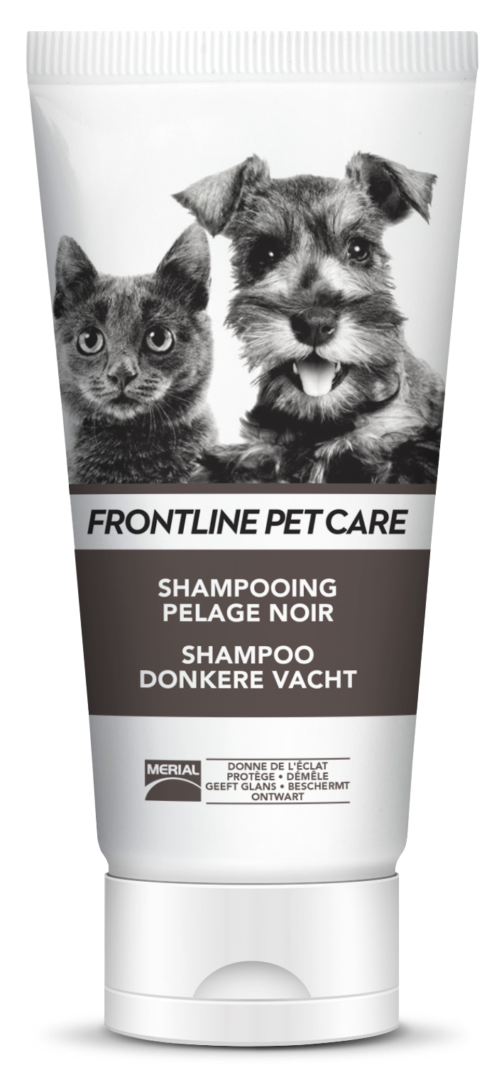shampooing chien chat noir frontline pet care