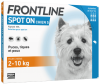 frontline spot on chien